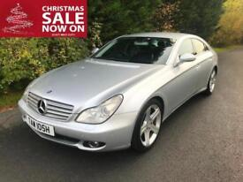 2005 (55) MERCEDES CLS320 3.0 CDi 7G-TRONIC TURBO DIESEL AUTOMATIC