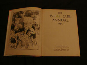 THE WOLF CUB ANNUAL 1960 (BOY SCOUT) collectible hardcover Belleville Belleville Area image 3