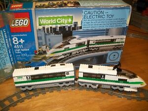 Lego 4511 High Speed Train