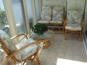 Rattan Sun Room Set