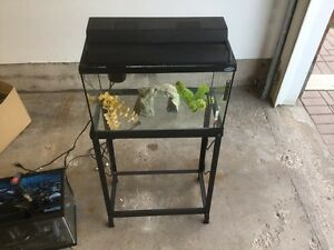 2 Fish Tanks with Accessories