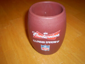 BUDWEISER FOOTBALL BEER COOLIE Windsor Region Ontario image 1