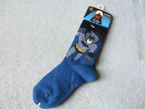 BRAND NEW BATMAN SOCKS SIZE 4-6