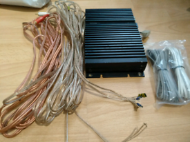 Alpine small car amplifier