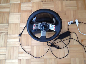 Logitech G27 Racing wheel / Volant base only