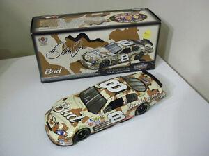 #8 DALE EARNHARDT JR BUDWEISER CAMO/AMERICAN HEROES 1:24 NASCAR