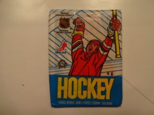 cartes de hockey 1989-90 opc wax pack