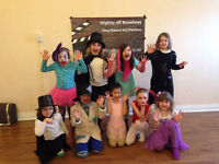 Dramatix class (act/sing/dance/perform) ages 7-12