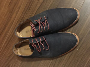 Navy Blue Casual Dress Shoes for Sale Kitchener / Waterloo Kitchener Area image 1