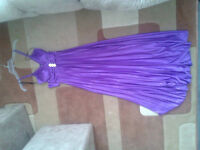 Purple grad dress for Sale.