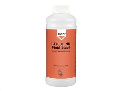 ROCOL LAYOUT INK Fluid Blue 1 Litre ROC57034