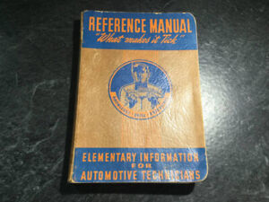 1942 General Motors GM Reference Manual What Makes it Tick?