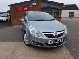 2008 Vauxhall/Opel Corsa 1.2i PETROL AC NEW TIMING CHAIN NEW SERVICE PX WELCOME