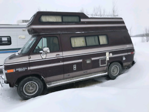 1988 Camperized Van   SOLD