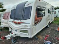 2013 Bailey Unicorn Madrid 4 Berth End Washroom Caravan Isabella Awning
