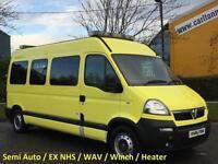2008 / 58 Vauxhall Movano LM35 Cdti Ambulance / Minibus Wheelchair Low mileage