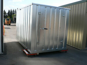 Galvanized Modular & Portable Storage Building 86'' L x 81'' W x 87.5'' H
