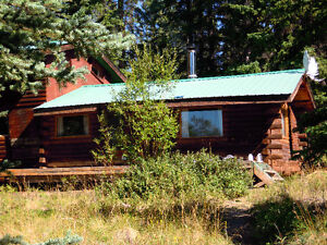 Water access cabin for rent - Tagish Lake