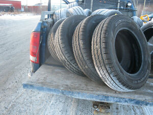 3 full sets of brand new tires.Got at Yukon Government Sale