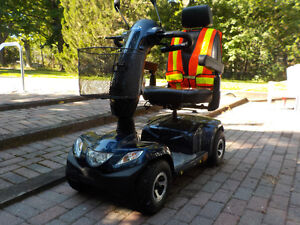 Invacare Pegasus 4 Wheel Scooter, Blue with 8A Charger Kawartha Lakes Peterborough Area image 1