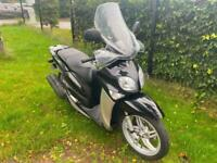 YAMAHA HW 125 XENTER MOPED SCOOTER 125CC BLACK LEARNER LEGAL