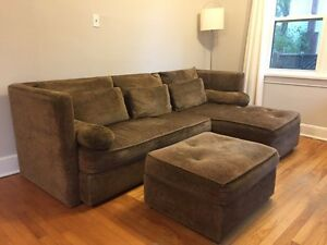 3 piece sectional from Attica