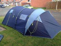 Shannon 5 man tent, excellent condition