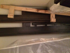 Solid wood double bed North Shore Greater Vancouver Area image 2