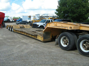 JC Lowboy Detachable trailer