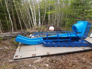 Ez dock water slide