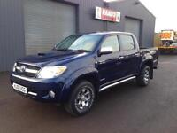 * SOLD *2008 Toyota Hilux Invincible 3.0D-4 Double Cab 4x4 Pickup*Full Leather*