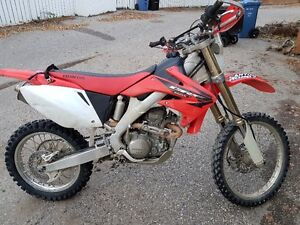 2005 CRF 250 X Reduced to sell
