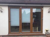 UPVC Oak Bi-Fold doors £490