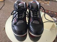 Nike Air Jordan 3 trainers uk 9.5 used