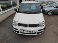 2010 Fiat Panda 1.1 Active ECO Petrol manual in white 5 door hatchback