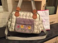 Pink Lining Wise Owl Change bag 👶🏻👜🌼£35 ono