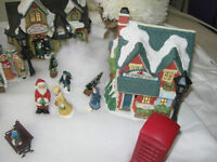 Christmas Village and Accessories