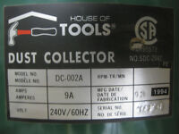 King of Tools Dust Collector Unit
