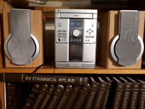 Zenith stereo - CD and cassette player