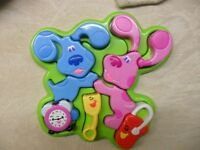 Tyco Blues Clues 3D Puzzle Complete Blue Magenta