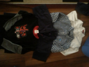 Boys shirts and sweaters size5/6