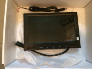 "LCD 7""TFT screen iVision , plastics supports for 7"" display"