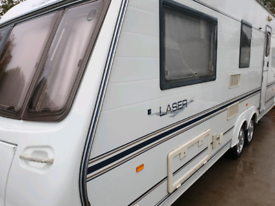 Coachman laser 590/4 motor mover ,awning