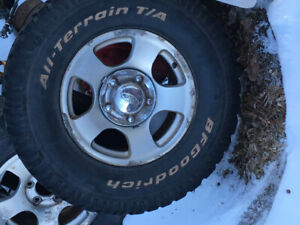 F150 rims and tires 97-03