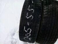 2 Yokohama winter tires:205/55R16
