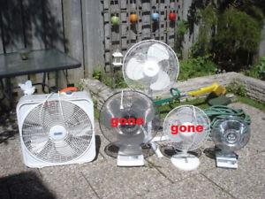 Box fan / Oscillating fans