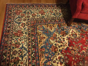 Absolutely Gorgeous wool carpet, hardly used, too big for me