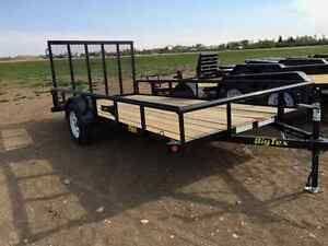 Big Tex Single Axle 35SA Utility Trailer
