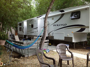 Katepwa RV Park Site & 40ft Trailer