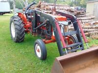 Tractor with loader